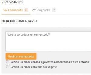 comentarios en mi blog
